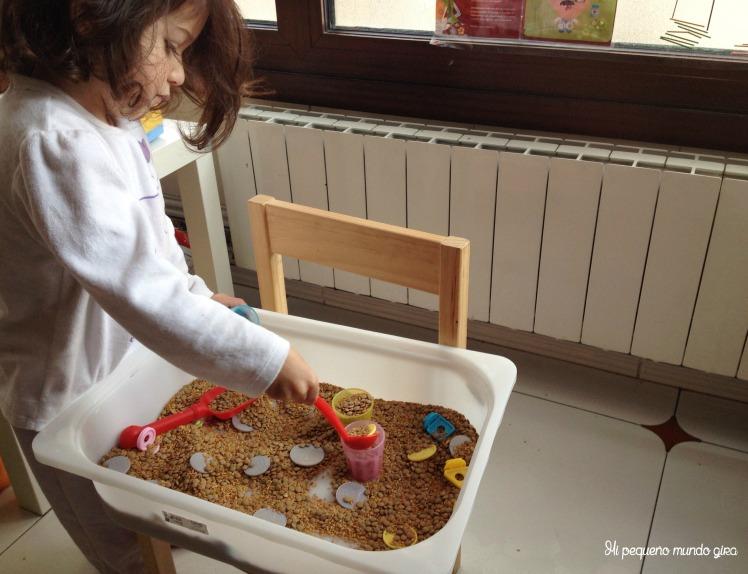 caja sensorial jugar
