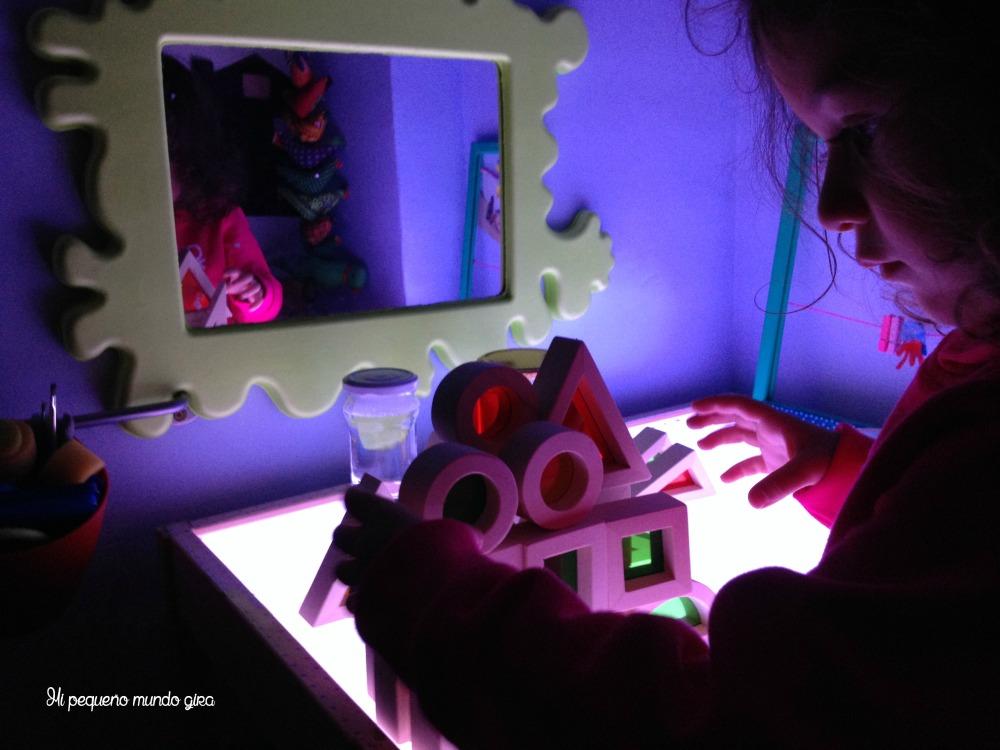 translucidos mesa luz