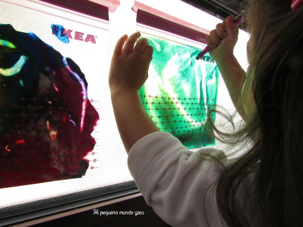 bolsa gel ventana
