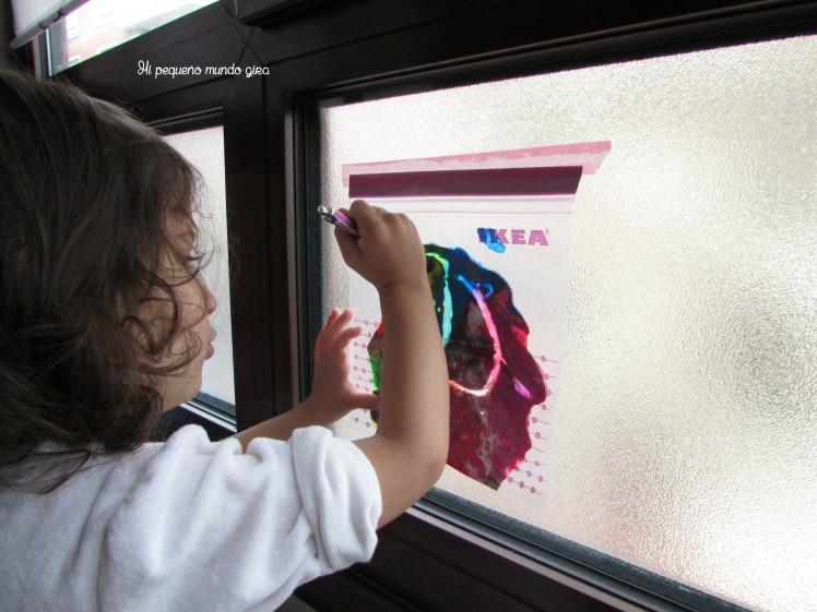 bolsa sensorial ventana