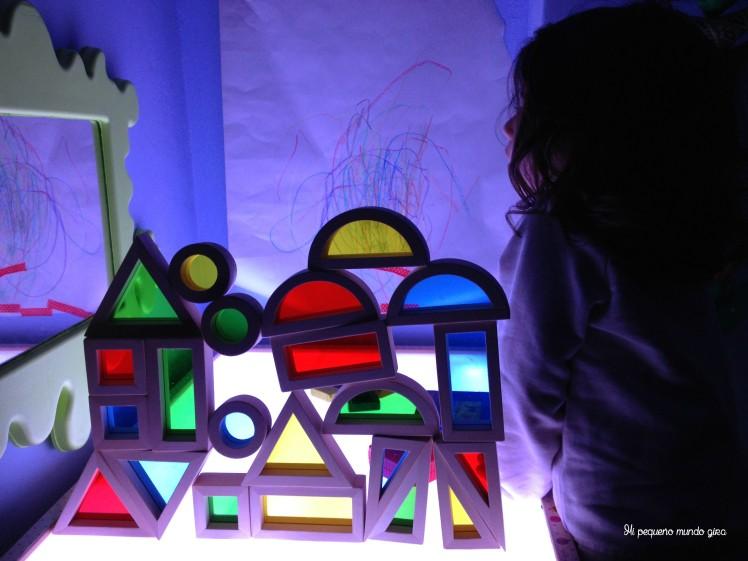 Mesa luz color