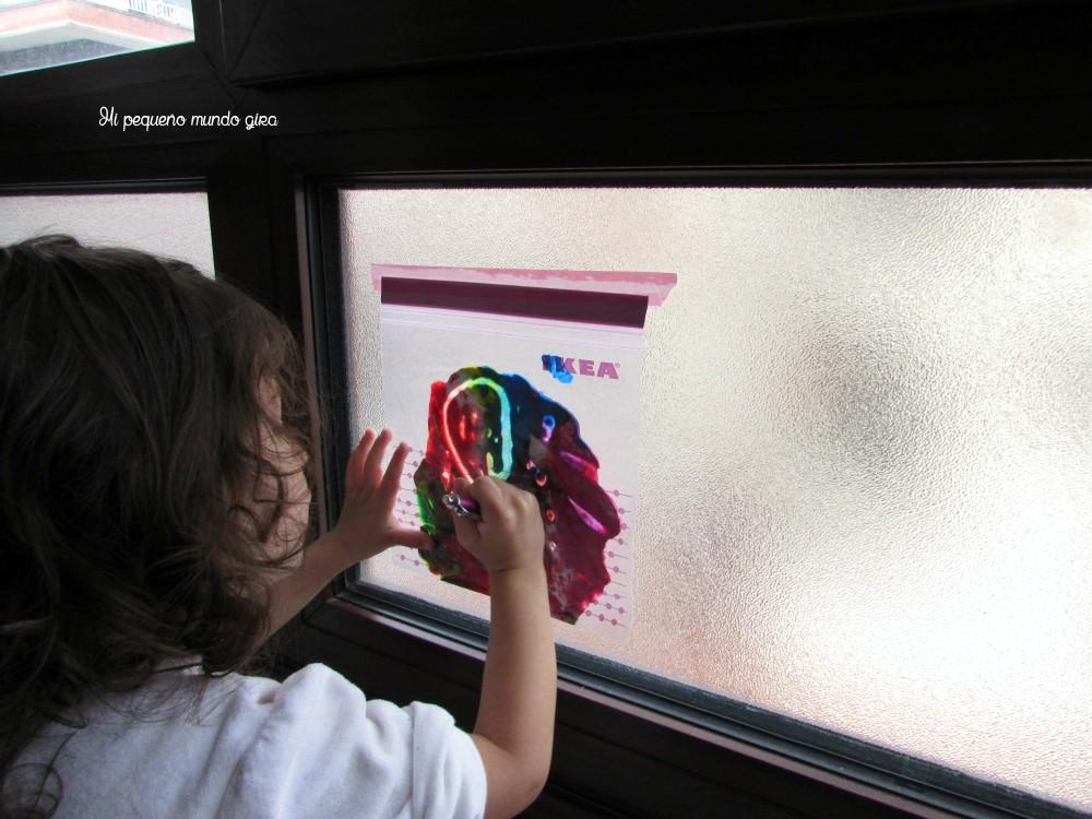 ventana pintar