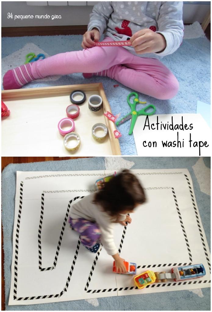 actividades con washi tape