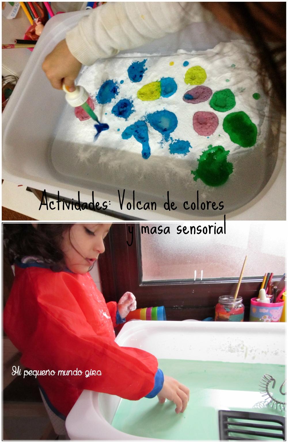 Actividades volcan y masa sensorial