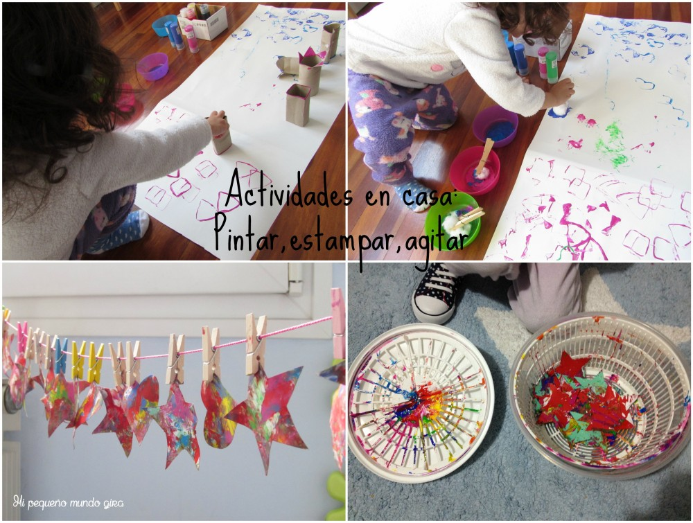 actividades pintar