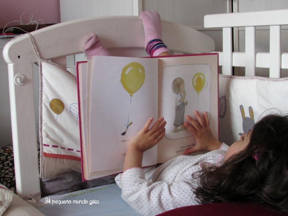 leer un globo tan bonito