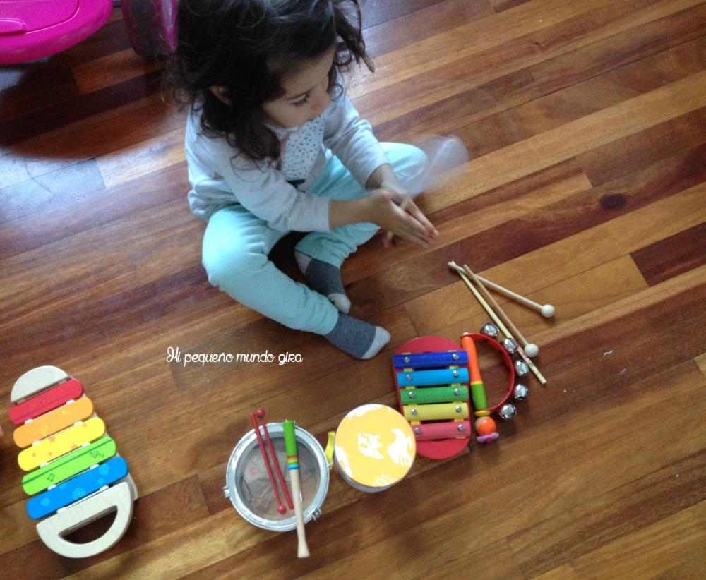 instrumentos caseros