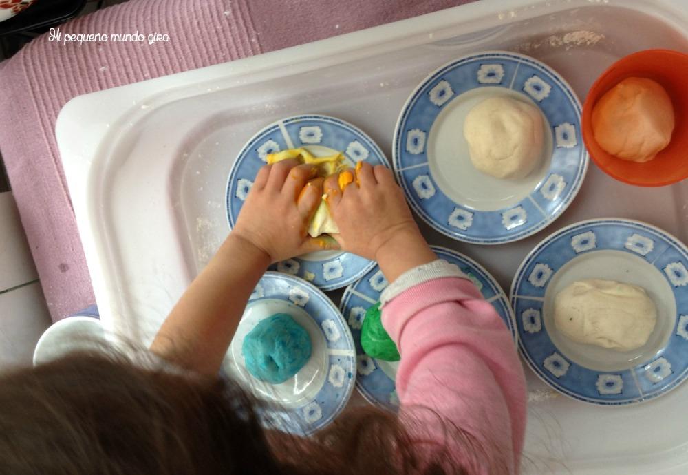 hacer plastilina casera
