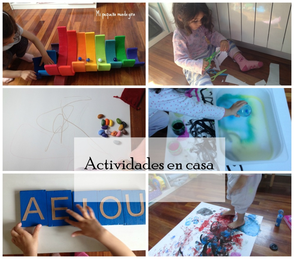 actividades en casa