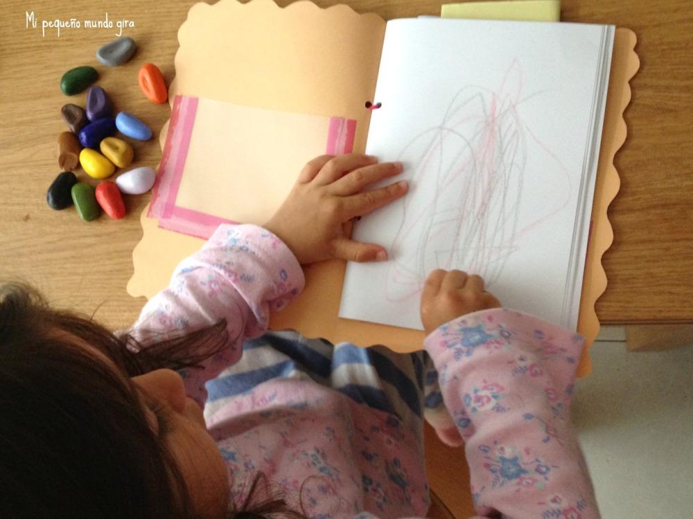 pinturas crayons rock