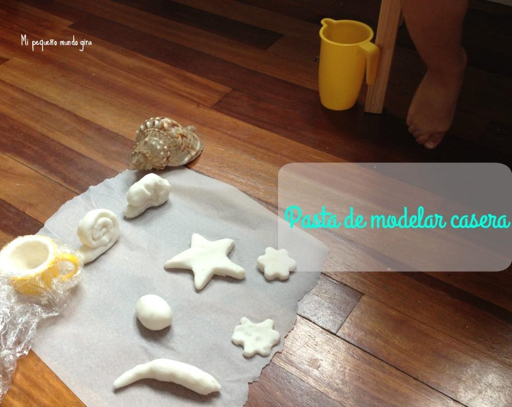 receta pasta de modelar