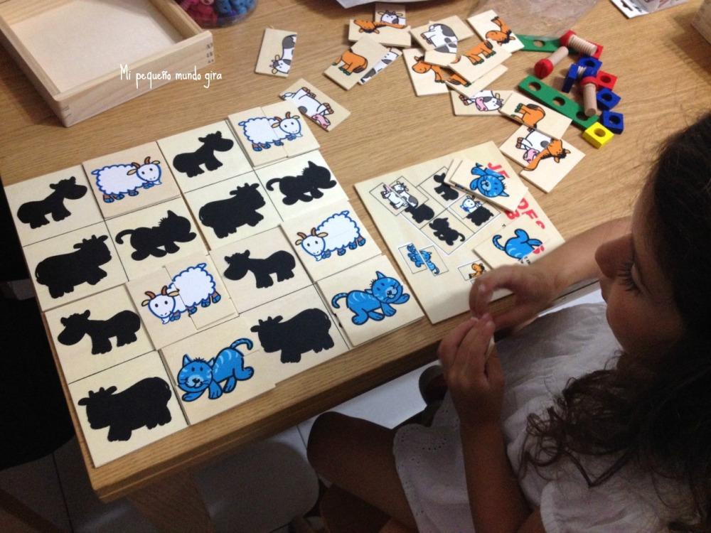 puzzle siluetas
