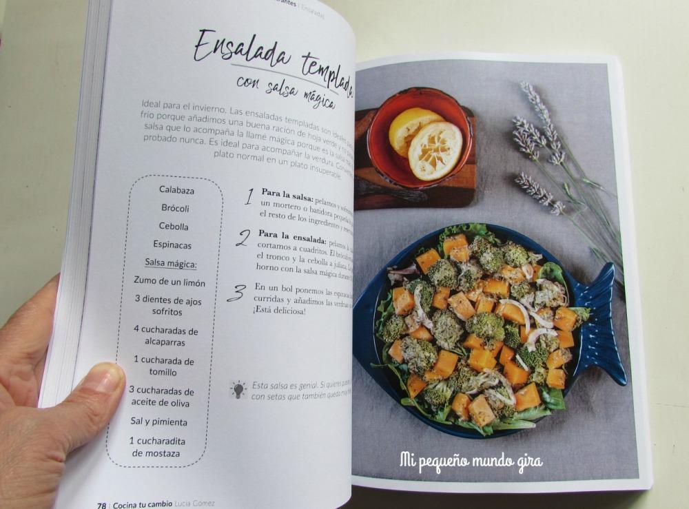 Cocina tu cambio libro