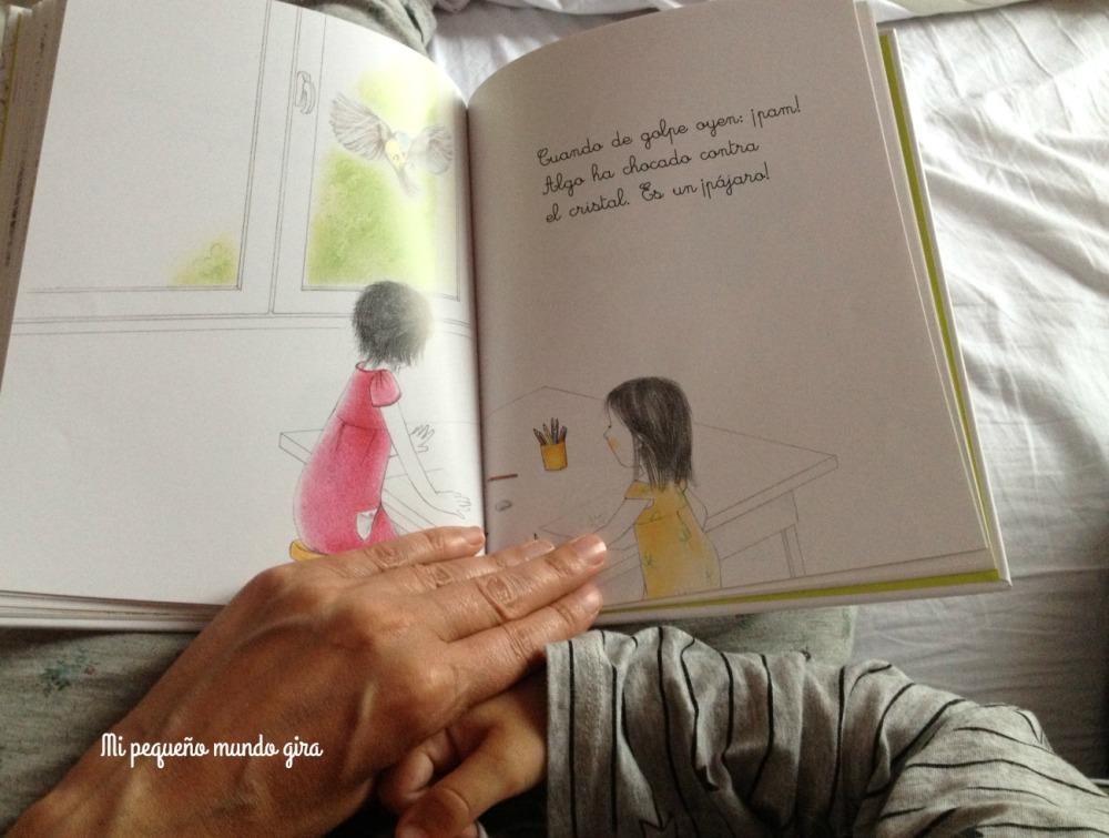 pequeñas historias montessori pajaro