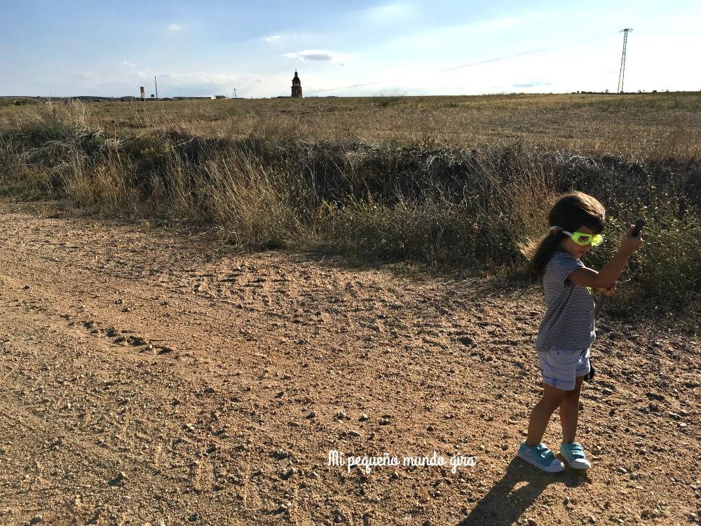 disfrazarse y bucear en los paseos al campo