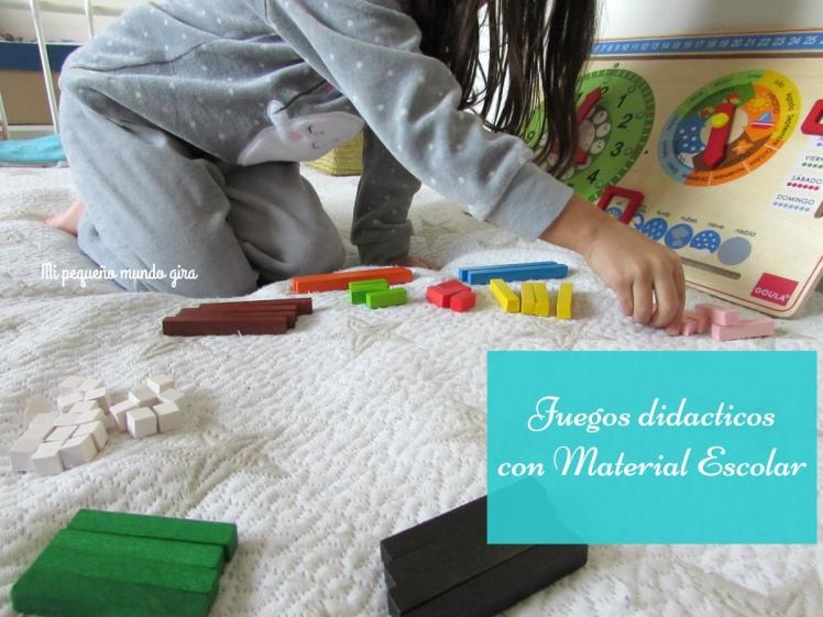 juegos didacticos de madera de Material Escolar