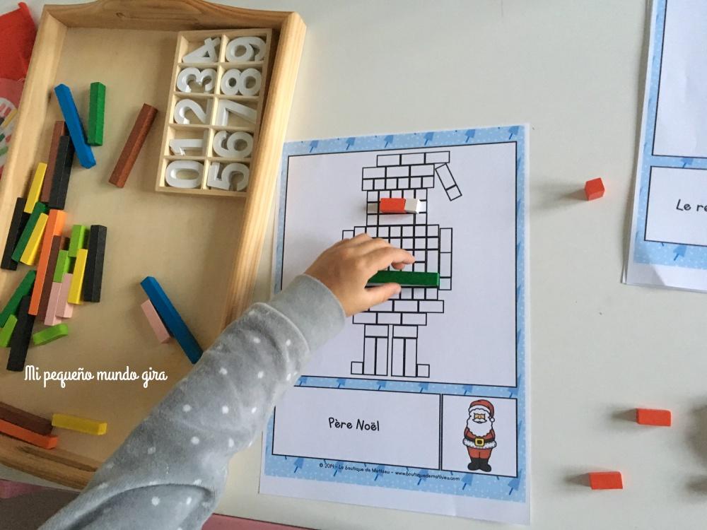 jugar y dibujar con las regletas goula