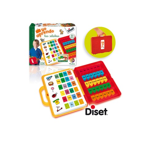 yo aprendo las silabas de Diset