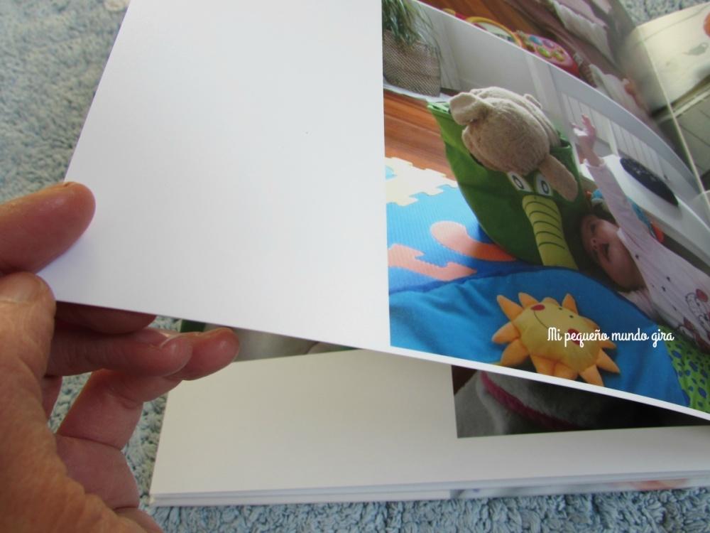hojas duras del album snappybook