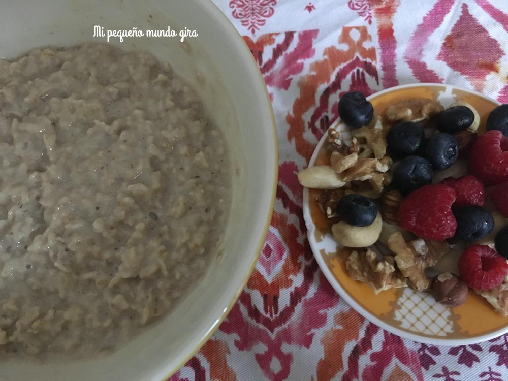 desayunos sanos con porrigde