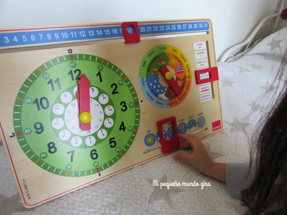 reloj-calendario-poniendo-la-estación