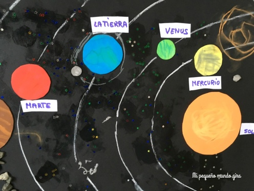 planetas de goma eva