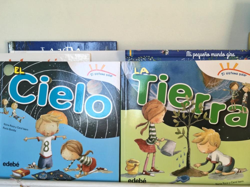 libros para niños sobre el espacio