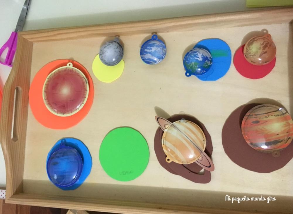 redondeles de goma eva para hacer planetas