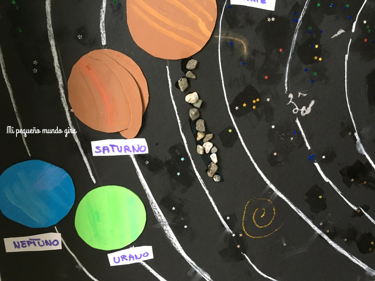 planetas del sistema solar casero