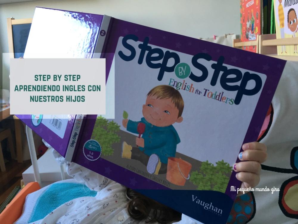 aprender ingles con step by step para los mas pequeños