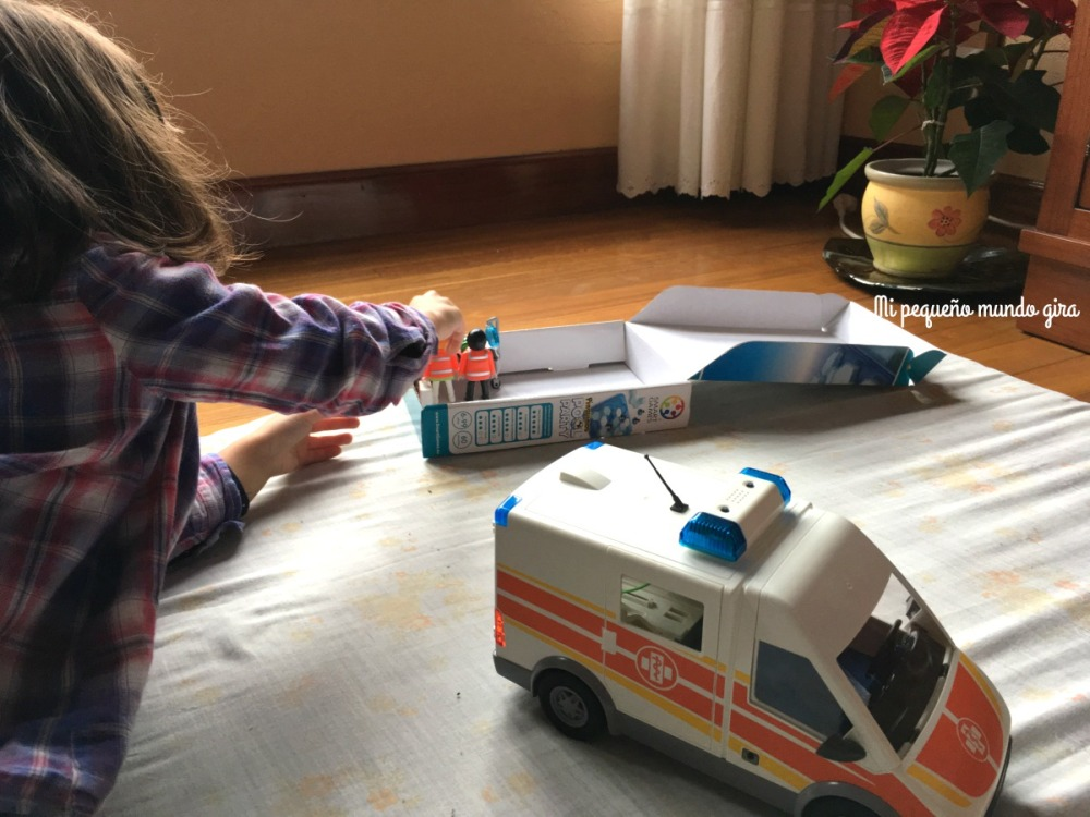 ambulancia de playmobil