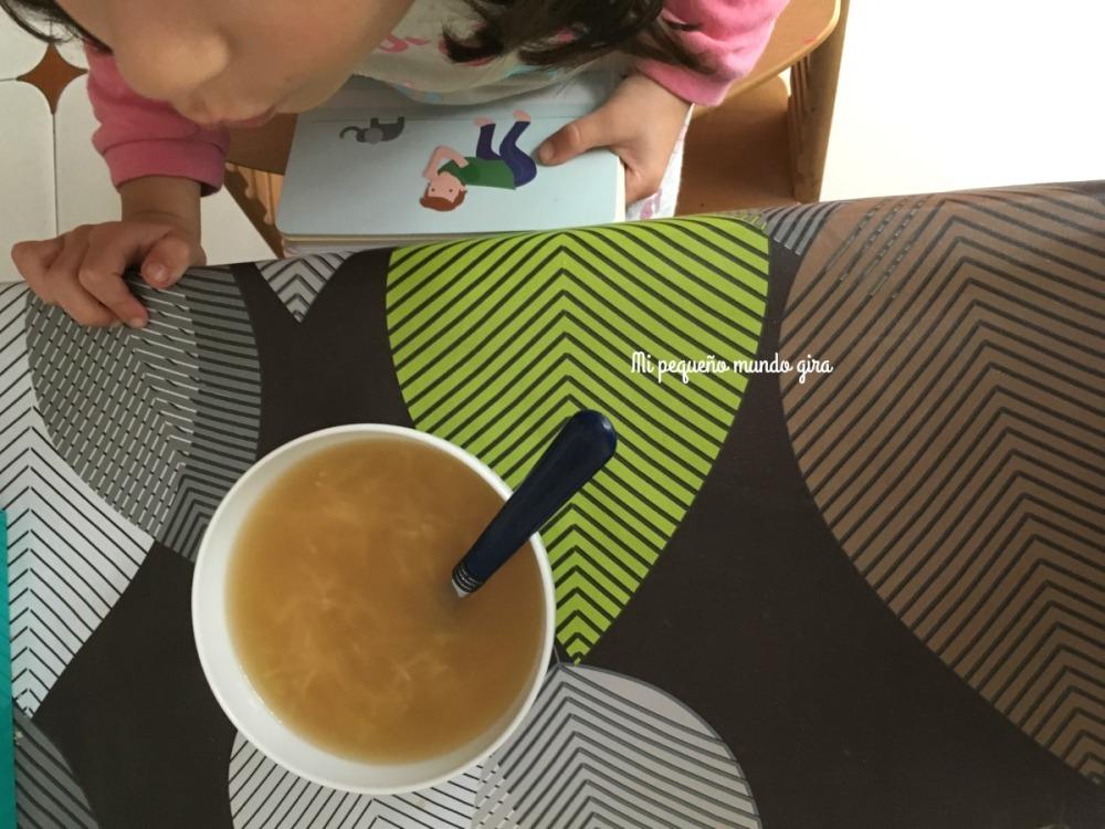 sopa calentita