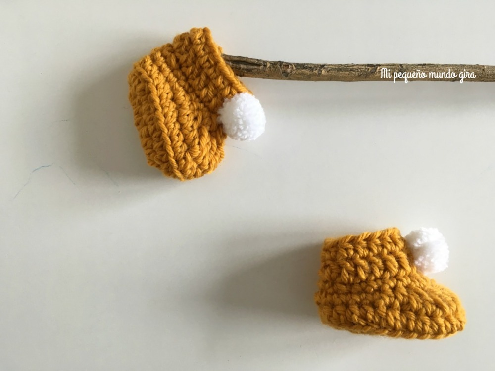 patucos de bebe hechos a crochet