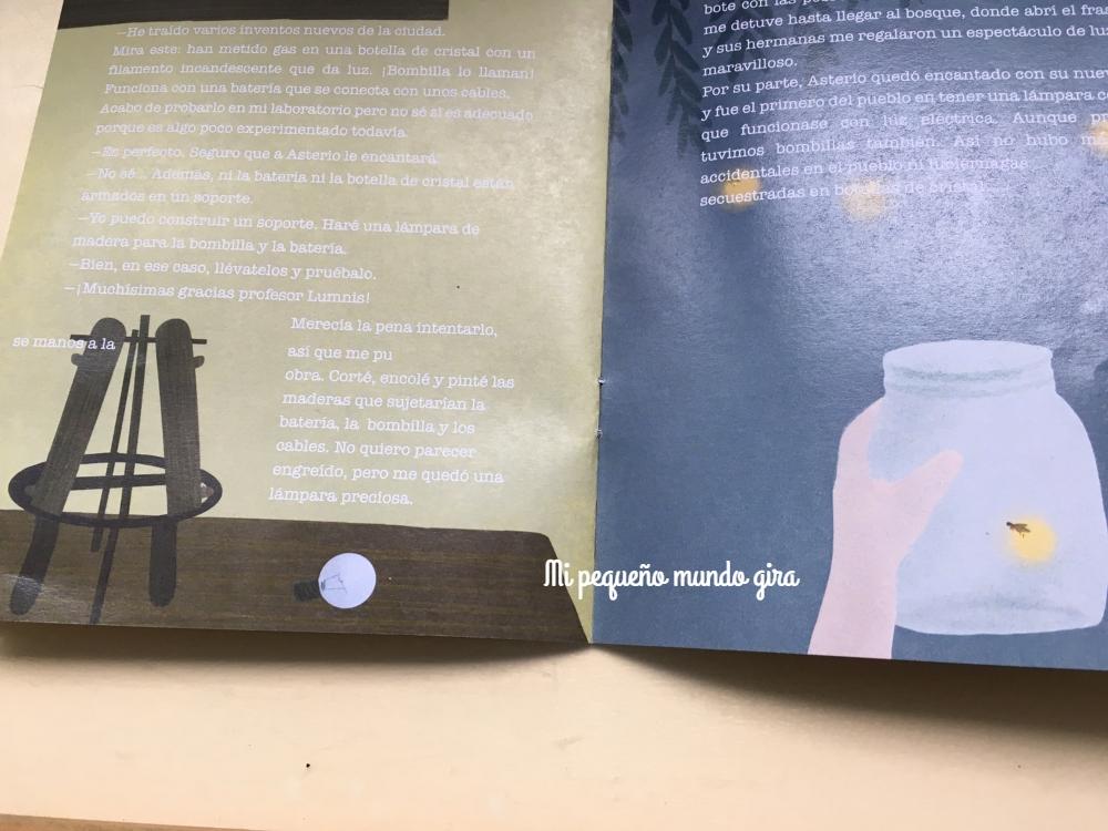 historia de la lampara