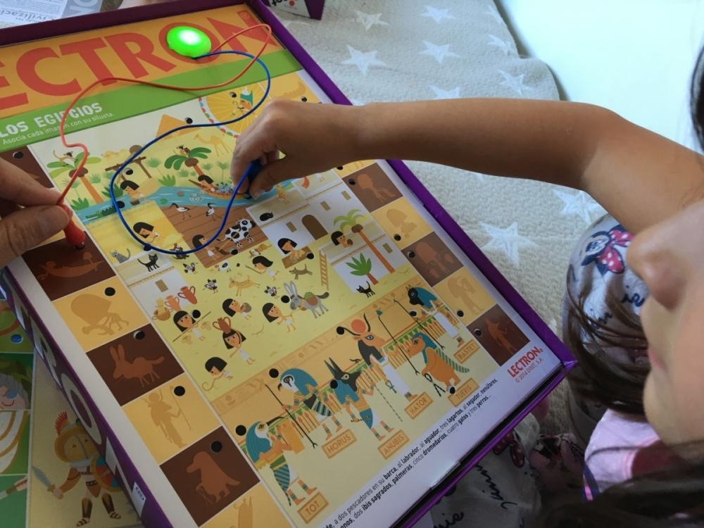 juego educativo lectron aprendo las civilizaciones